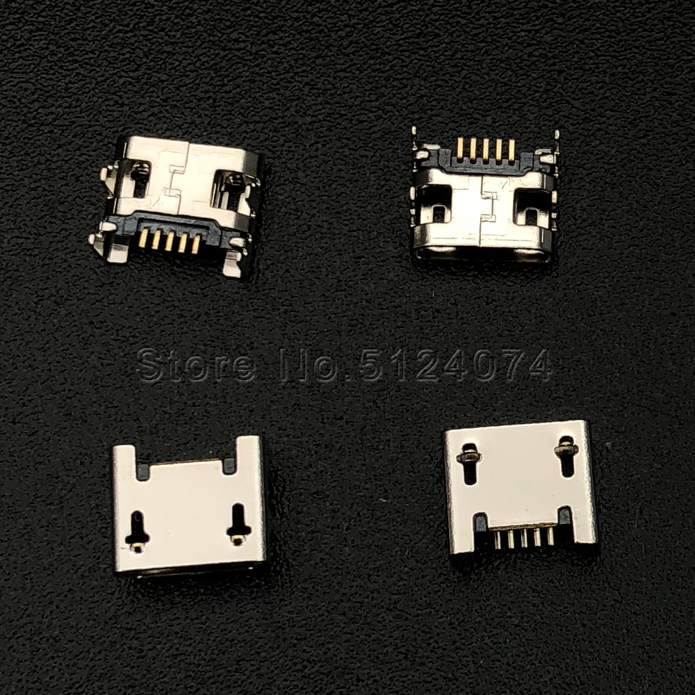 Cable Length: Other Computer Cables 0.8 Micro USB 20PCS//LOT for Micro 5P Phone Charging Tail Port,USB Jack Connector Socket,for Huawei for Lenovo