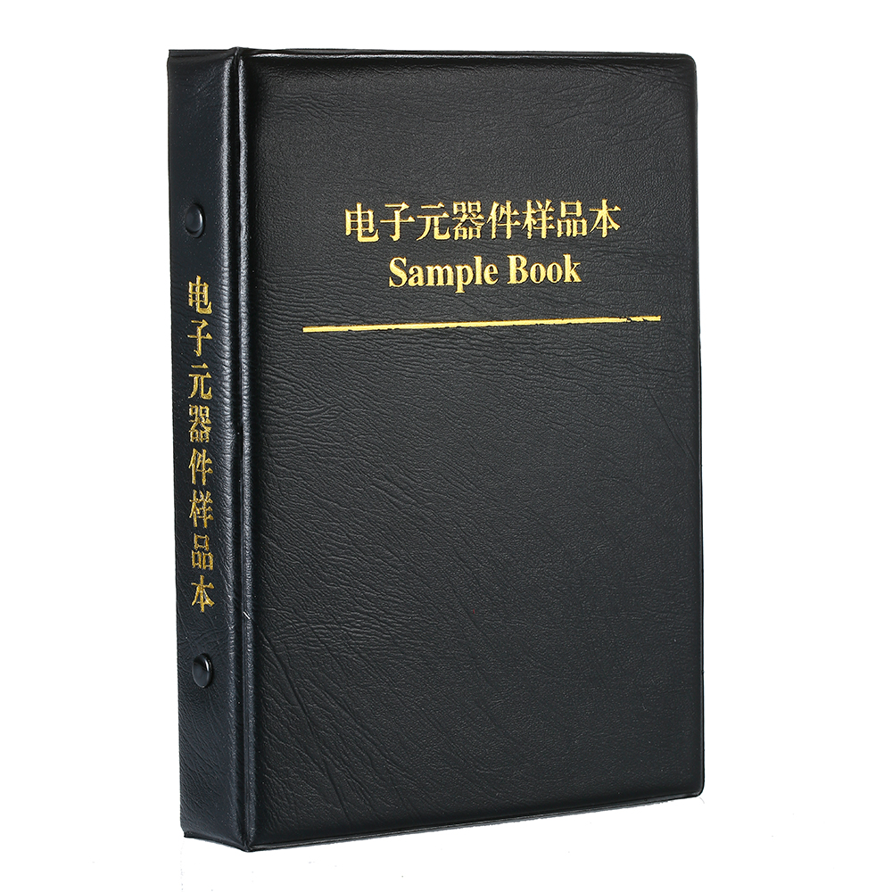 New Arrival Sample Book 0201 0402 0603 0805 1206 Resistor Kit SMD SMT Chip Resistor Capacitor Sample Book Assorted Kit