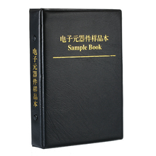 New Arrival Sample Book 0201 0402 0603 0805 1206 Resistor Kit SMD SMT Chip Resistor Capacitor Sample book Assorted Kit недорого