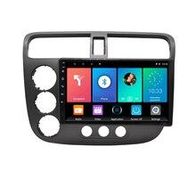 Pour Honda Civic 2000-2006 Android autoradio multimédia lecteur vidéo Navigation GPS 2 din autoradio unité principale