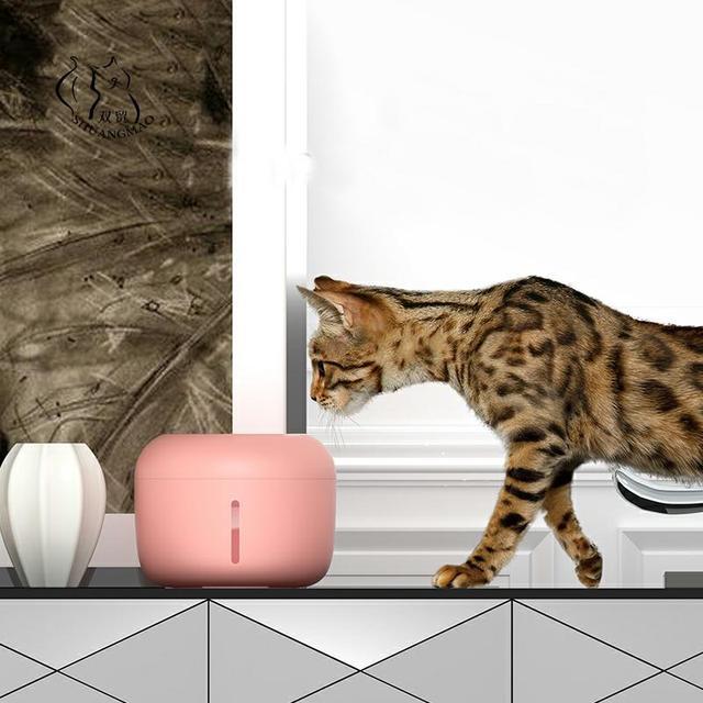 Fonte do gato beber fonte 2.5l automática bebedor tigela de água pet cão gatos dispensador usb elétrico com 1 caixa de filtro 1