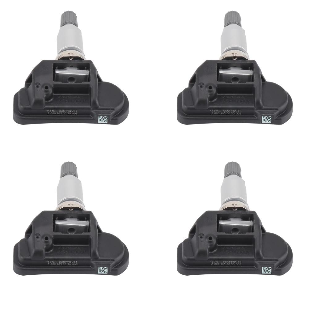 4 pieces For Mercedes For Smart C E S CL CLA CLS G GL GLK A0009050030Q03 Tire Pressure Monitor Sensor TPMS Tire Pressure Sensor