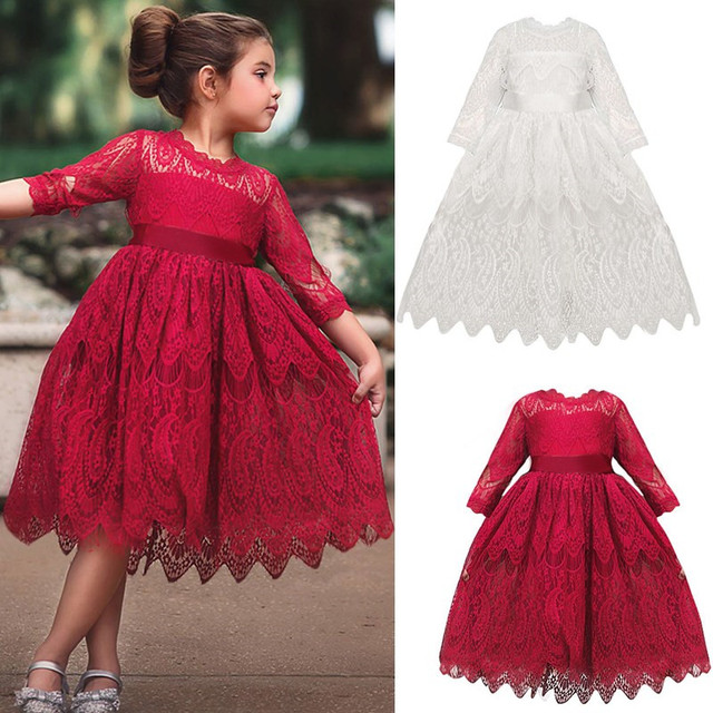 Baby girl clothes baby girl long sleeve stitching mesh tutu princess dress baby girl sweet cute baby girl dress 4