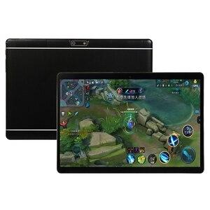 Image 2 - 10.1 pouces 7.0 IPS écran tablette Octa Core MT6580 RAM 1GB ROM 16GB 3G double carte SIM téléphone 3G appel WIFI tablettes PC prise ue