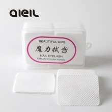 180/300/540PCS Nail Polish Remover Nail Wipes Bath Lint-Free Wipes Cleaner Pad Cotton Napkins for Manicure Gel Nail Art Tools