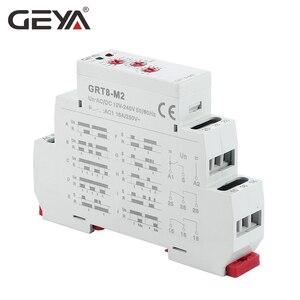 Image 5 - GEYA GRT8 M Einstellbare Multifunktions Timer Relais mit 10 Funktion Entscheidungen AC DC 12V 24V 220V 230V zeit Relais Din schiene