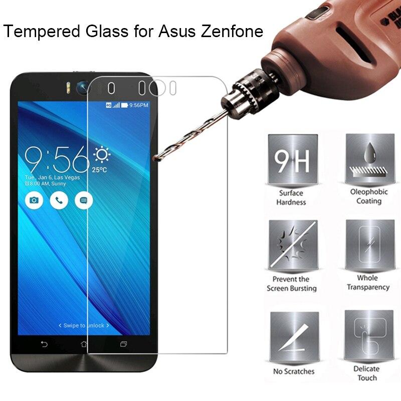 Phone Film For Asus Zenfone ZS620KL ZS570KL ZS551KL ZE620KL ZE601KL Screen Hard Tempered Glass For Asus ZE554KL ZE551ML ZE520KL