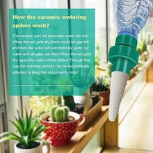 2Pcs/set Greenhouse Automatic Drip Irrigation Watering System Garden Houseplant Potted Flower Gadgets Can