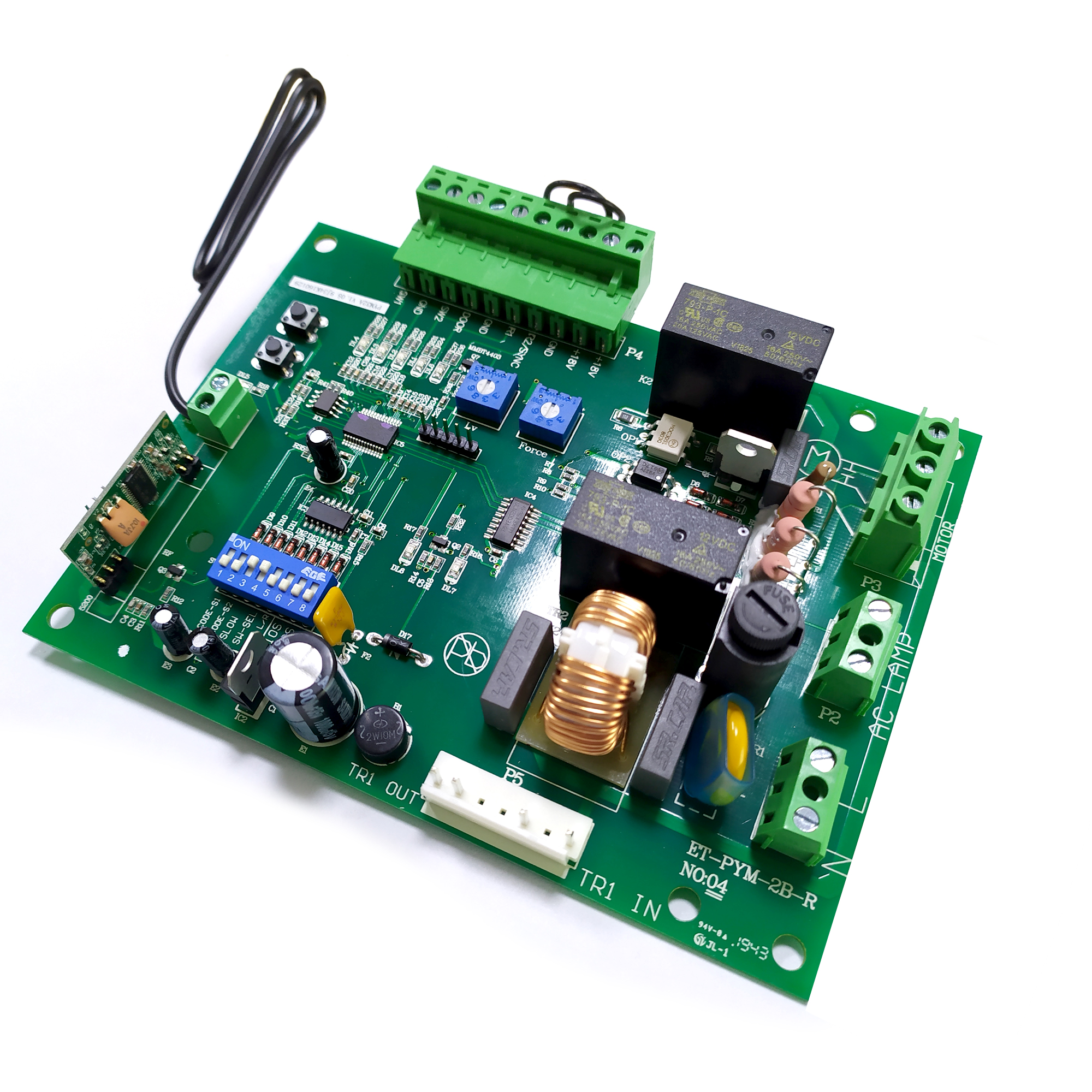 Foresee Sliding Gate Opener Electronic PCB Automatic Motor Garage Door Opener Closers Circuit Board