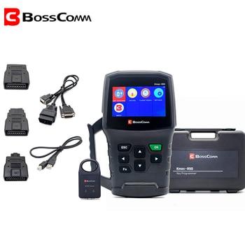 BOSSCOMM KMAX-850 2020 Auto Car-Key-Programmer OBDⅡ for All Cars Locksmith Automotivo OBD2 Immobilizer Scanner Key Programmer цена 2017