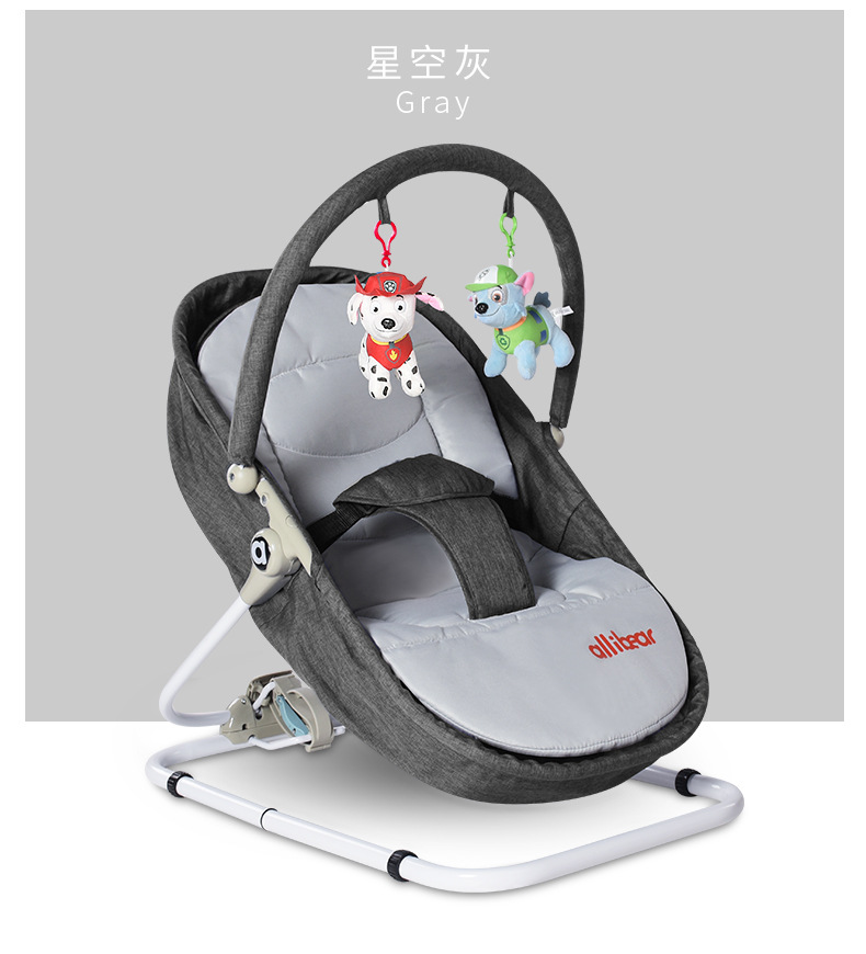 Hf74134ac97614f7ab3992c6aa66bd913X Baby Swing Baby Rocking Chair 2 in1 Electric Baby Cradle With Remote Control Cradle Rocking Chair For Newborns Swing Chair