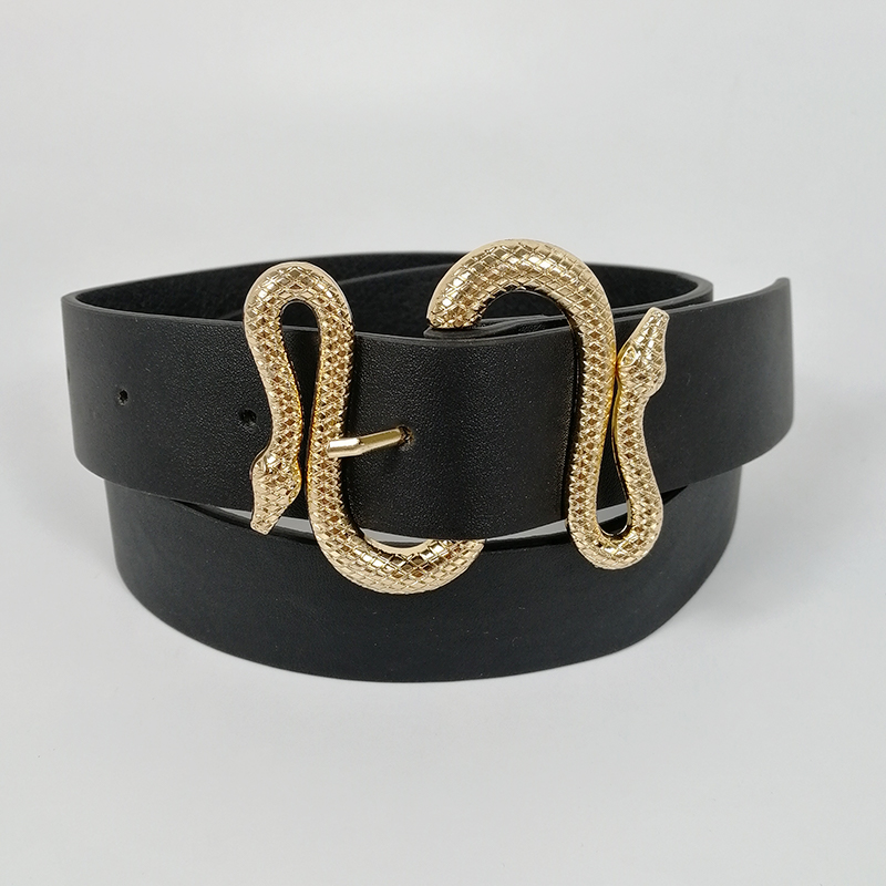 Designer belts for women high quality soft pu leather snake belt luxury mens jeans cinturon mujer G cintos wide dress riem