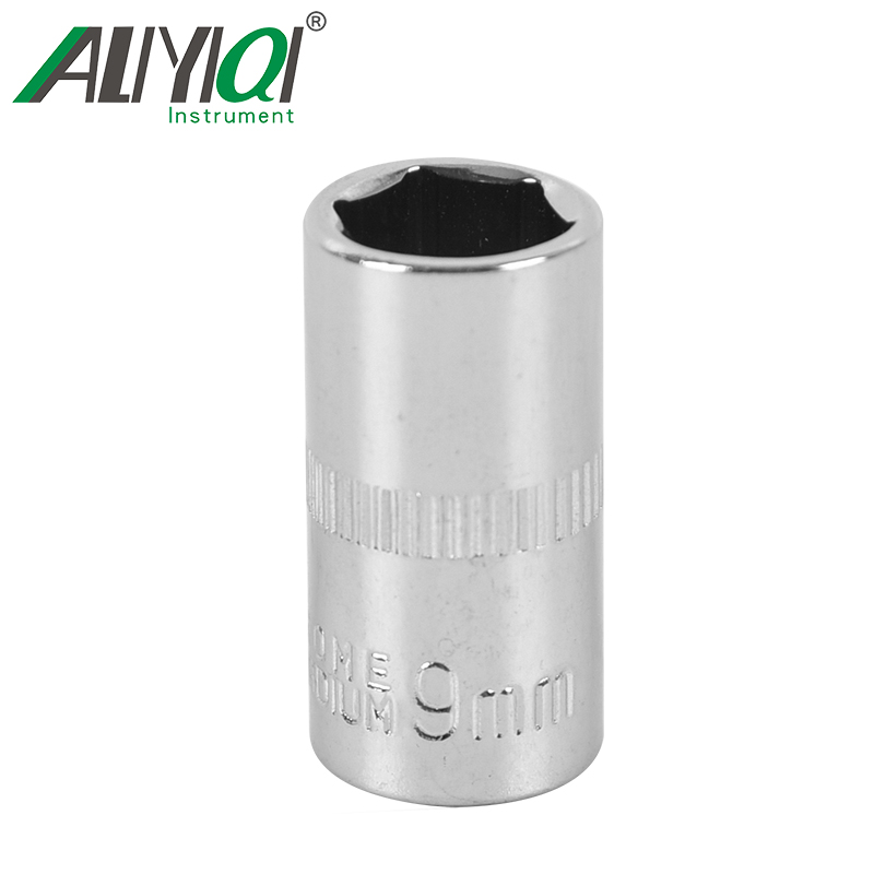 1/4 Wrench 4mm-10mm Repair Accessories Tool Socket Wrench Head Sleeve Double EndHand Tools