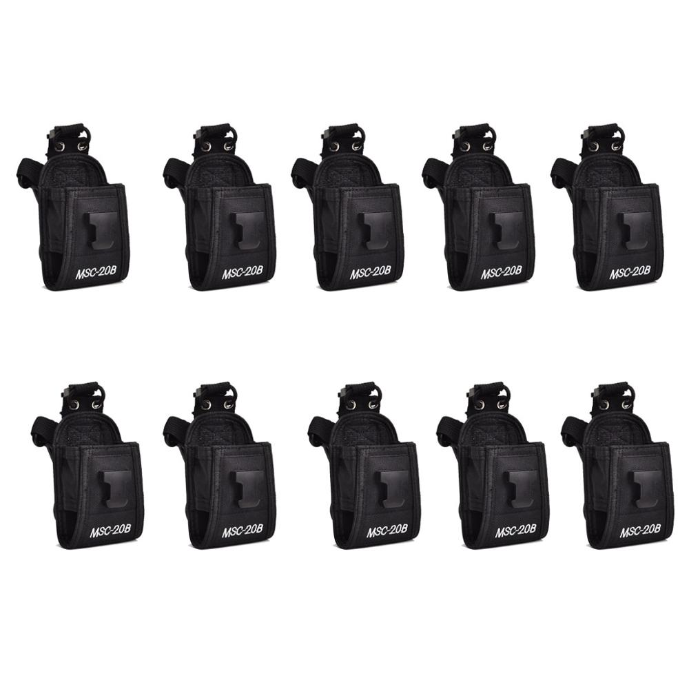 10pcs Multi-function Radio Case Holder For Kenwood For Yaesu For Motorola GP338 Baofeng BF888S Retevis H777 Walkie-talkie J0067A
