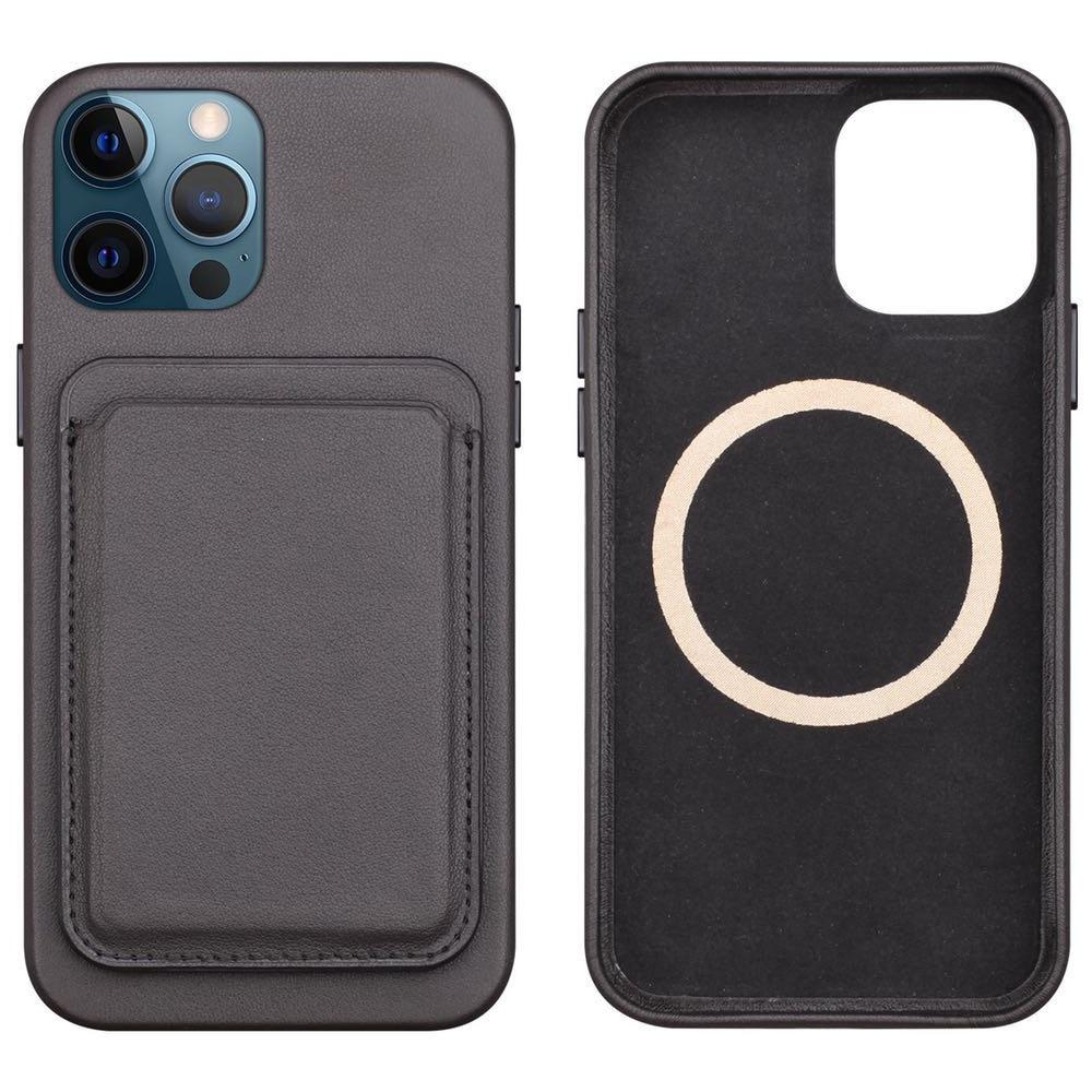 Fivetech magnetico in pelle originale per iPhone 12 Pro/12Mini/12 Pro Max Mag custodia sicura porta carte portafoglio posteriore porta carte di credito
