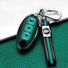 Новинка ТПУ чехол для автомобильного ключа nissan rogue xtrail