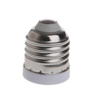 E27 to E17 Light Socket Base LED Halogen Light Bulb Lamp Adapter Converter Holder Base e14 to e27 flexible extend extension adapter socket 18 28 38 48 58cm led light bulb lamp base holder converter
