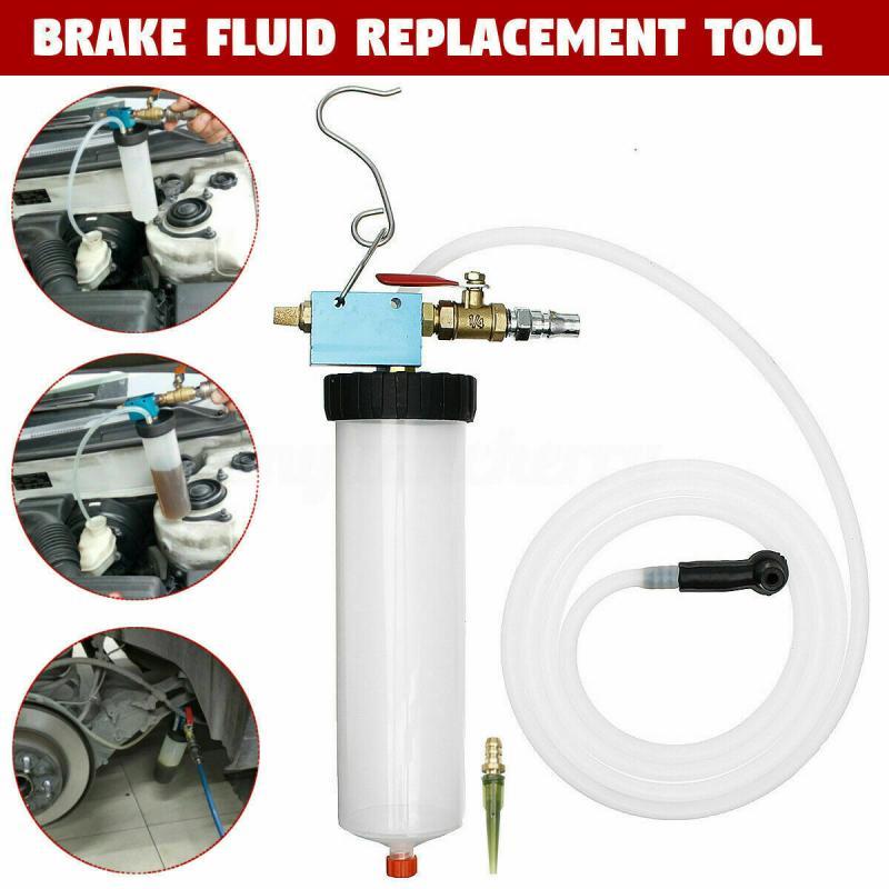 Car Brake Fluid Oil Replacement Tool Hydraulic Clutch Oil Bleeder Oil Pump Universal Empty Exchange Drain Kit