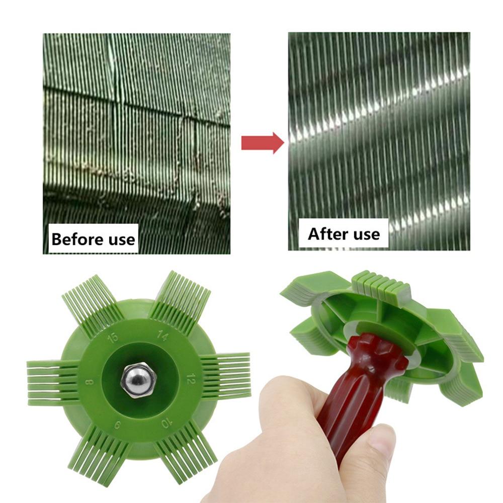 Car Plastic A/C Radiator Comb Evaporator Air Conditioning Tools Fin Repair Comb Auto Condenser Fin Straightener Refrigeration