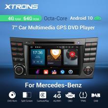 Xtrons PX5 Android 10.0 Radio Auto Dvd speler Gps Obd Voor Mercedes Benz E Klasse W211 E200 E220 E240 E270 e280 2002 2008 Cls W219