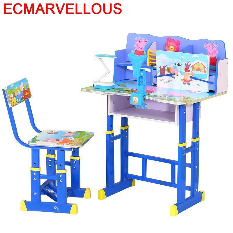 Toddler Pour Cocuk Masasi Avec Chaise Child De Estudio Adjustable Mesa Infantil Kinder For Bureau Enfant Kids Study Table