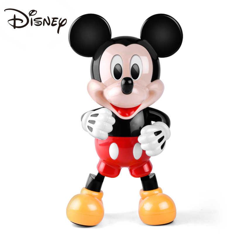 Disney Original Dancing Mickey Mouse Dazzling Music Shiny Educational Electronic Toys Walking Dancing Robot Kids Figures Toy Aliexpress