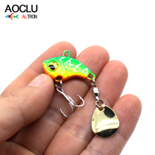 AOCLU Lure Fishing Spoons 7.5g 12g 16g 23g  Metal Casting Jig Lures Spinner Bait with Swimbait Spinnerbait Brass Fishing Spoon 10pcsbrass tickers brass lure bodies brass weight sinker diy spinner buzzbait fishing lures