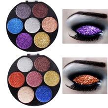 Eye Shadow Palette Makeup Shimmer Pigment Waterproof Mineral Balm Shade Nude Cosmetic Professional Eyeshadow Pallete недорого