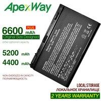 Apexway batterie dordinordinateur portátil para acer extensa 5220 5210 3ur18650y-2-inv-10 bt.00604.026 travelmate 5520-501g12mi
