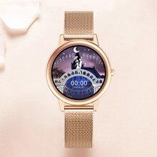 Smartic relógio inteligente masculino pulseira de fitness bluetooth smartwatch feminino ip68 toque completo esporte relógio digital para android e ios