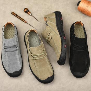 Męskie buty męskie buty outdoorowe duże rozmiary popularne buty buty męskie na co dzień buty do wspinaczki modne męskie buty tanie i dobre opinie HUAZHENMIAN Sztuczna skóra podstawowe CN (pochodzenie) Na wiosnę jesień Buty casualowe RUBBER Sznurowane Dobrze pasuje do rozmiaru wybierz swój normalny rozmiar