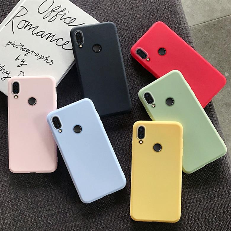 Lovely Cute TPU Case For Xiaomi Redmi Note 7 8 Pro 8T 4X 7A 8A 6 6A 5 Plus 4A 5A 4 Go Colorful Slim Soft Silicone Case Cover