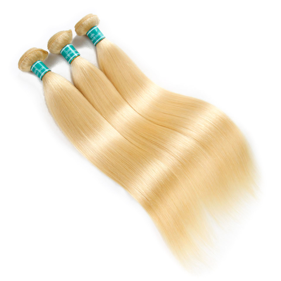 Hf74466082d944cb29c2f947f9d3a9d275 Ali Grace Hair Blonde 613 Bundles With Frontal Brazilian Straight Bundles with Closure 13*4 Remy Blonde Bundles With Frontal
