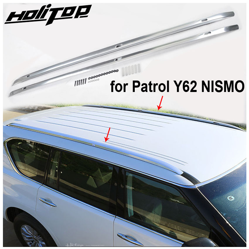 new arrival luggage bar roof rack roof rail for nissan patrol y62 2010 2019 from iso9001 famous factory promotion price 7days