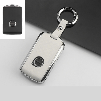 Hot sale Carbon fiber+Zinc alloy Car Key Case Cover Shell For Volvo XC40 XC60 S90 XC90 V90 2017 2018 T5 T6 2015 2016 T8 Keychain