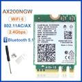 Беспроводной M.2 Wifi 6 Intel AX200 2974 Мбит/с Bluetooth 5,1 Wlan 802.11ax MU-MIMO NGFF Wi-Fi карта AX200NGW