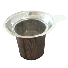 Reusable Stainless Steel Mesh Tea Infuser Strainer Teapot Leaf Spice Filter Drinkware Kitchen Accessories New