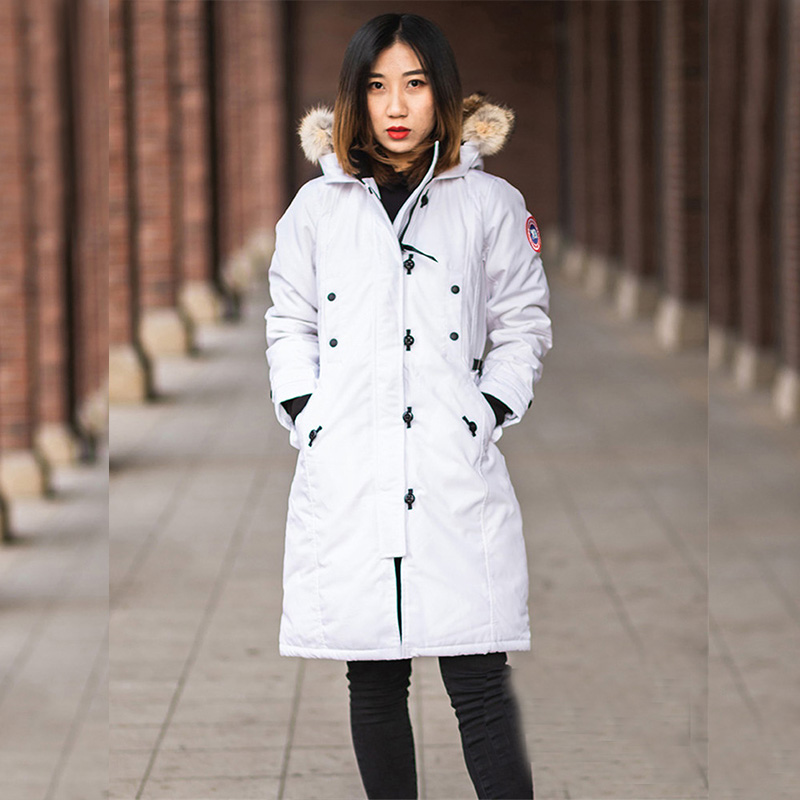 2019 Woman Padded Long Parka Oversize Down Jacket Winter Coat Female Ladies Parka Hooded Plus Size Extreme Weather Outwear Mujer image