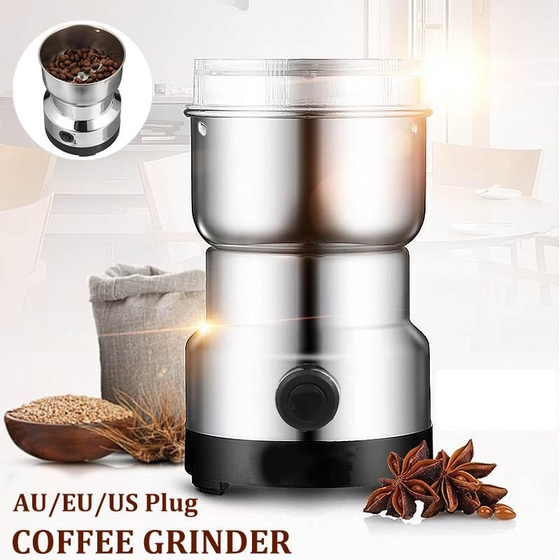 Кофемолка для кофейных зерен, кофемолка, электрическая кофемолка, многофункциональная кофемашина, зерноуборочная кофемашина, кухонный инс...