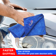 LUDUO 40*50CM Car Wash Renovate Cloth Microfiber Towels Car Cleaning Polish Drying Detailing Soft Absorbent clean Refurbish Tool