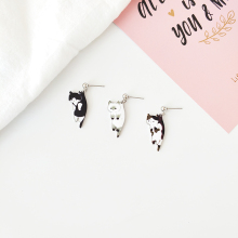 Japanese and Korean cartoon earring for cute cats