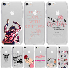 Harry Styles Treat People With Kindness Phone Case For iPhone 12 11 Pro XS MAX X XR 7 8 6 5 Plus  Soft TPU Silicone Fundas Cover