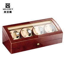 8+9 Automatic Mechanical Watch Winder Transparent Cover Motor Shaker Wa