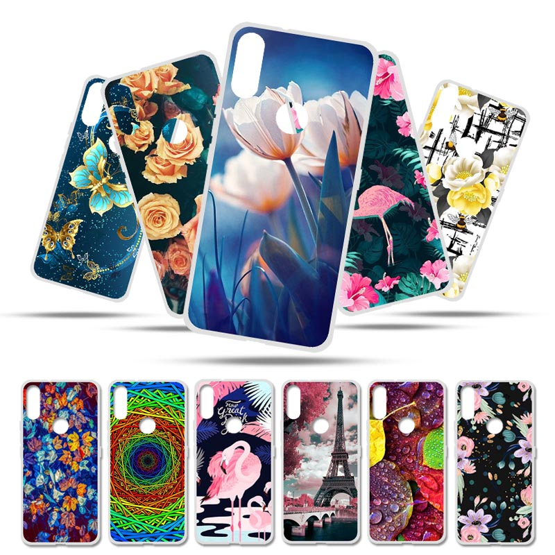 Bolomboy Painted <font><b>Case</b></font> For <font><b>Doogee</b></font> <font><b>X70</b></font> <font><b>Case</b></font> <font><b>Silicone</b></font> Soft TPU <font><b>Cases</b></font> For <font><b>Doogee</b></font> <font><b>X70</b></font> Cover Wildflowers Animal Cute Bags 5.5 inch image