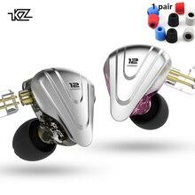 KZ ZSX Terminator 5BA 1DD 12 Unit Hybrid In-ear Earphones HIFI Metal Headset Music Sport  KZ ZS10 PRO AS12 AS16 ZSN PRO C12 DM7 kz zs10 4ba 1dd hybrid in ear earphone hifi running sport earphones earplug headset earbud for zs3 zsn pro s1 s2 zs10 pro