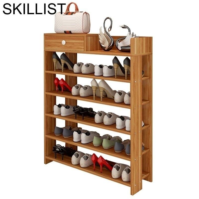 Cabinet Minimalist Rak Sepatu Meuble Chaussure font b Closet b font Retro Zapatero Organizador De Zapato