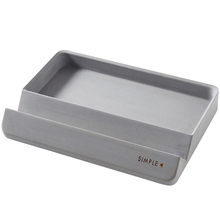 Silicone Concrete Mold for Cosmetics Stationery Storage Tray Handmade C