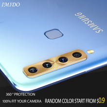 IMIDO Full Coverage Rear Camera Lens Protective Case for Smasung A30 A50 Metal Cover Galaxy A8S A9S 2018