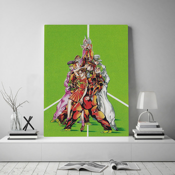 Prints Posters Home Decor Jojo S Bizarre Canvas Painting Wall Artwork Japanese Anime Role Modern Bedroom Cuadros Modular Picture