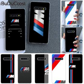 Diseny Top car BMW Phone Case for Samsung S9 plus S5 S6 S7 edge S8 S10 plus image